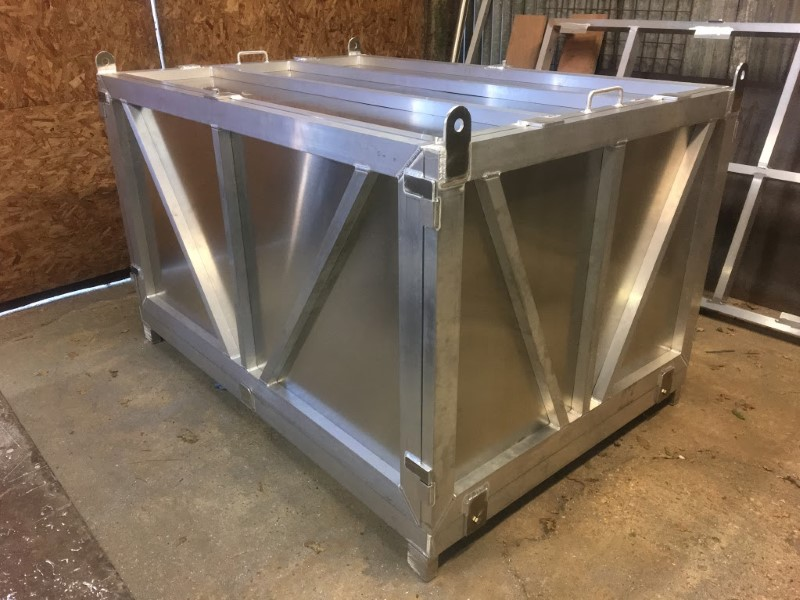 Aluminium Shipping Containers A Groves Fabrication