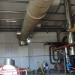 Specialist stainless steel ducting